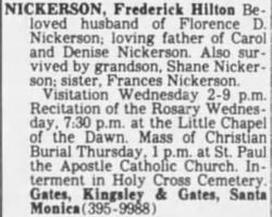 Frederick Hilton Nickerson