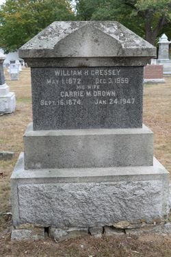 William H Cressey