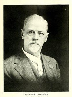 "James I ""Dr."" Anderson"