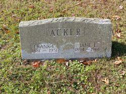 Frank Elwood Acker