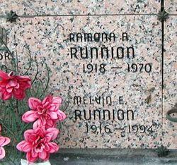 Ramona Anne <I>Corneil</I> Runnion