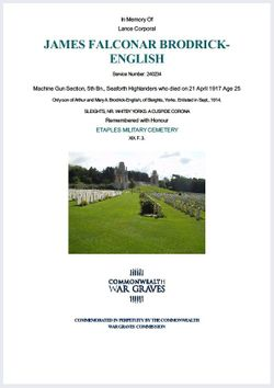Lance Corporal James Falconar Brodrick-English