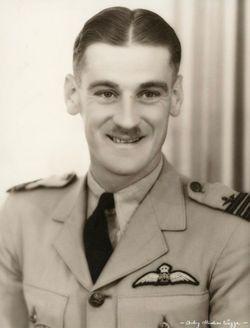 Wing Commander Douglas Carson Riding