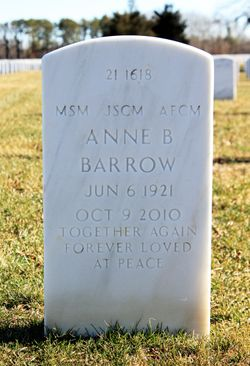 Anne B Barrow