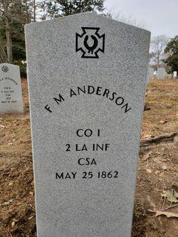 F. M. Anderson