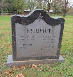 Carol Lynn <I>Tenenbaum</I> Frumhoff