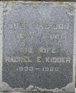 Rachel Z. <I>Kidder</I> Bacon