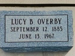 """Lucille Blanche """"Lucy"""" <I>Bagwell</I> Overby"""