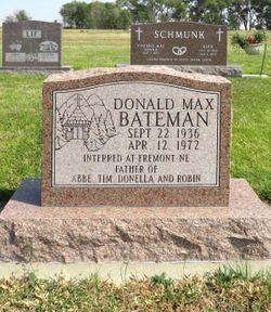 Donald Max Bateman