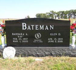Barbara Ann <I>Ray</I> Bateman