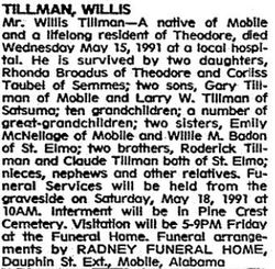 Willis Tillman