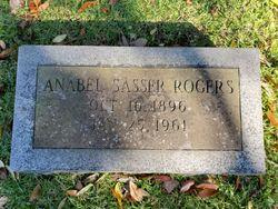 Anabel <I>Sasser</I> Rogers