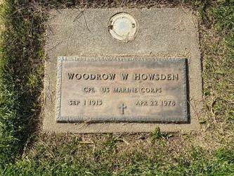 Woodrow W. Howsden