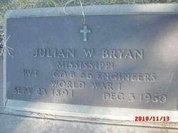 """Julian Walker """"Jack"""" Bryan"""