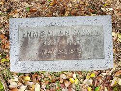 Emma <I>Allen</I> Sasser