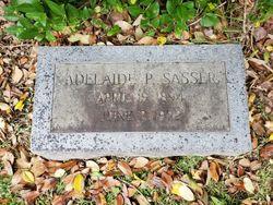 Adelaide P Sasser