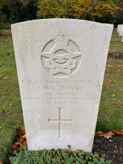 Warrant Officer Class II (Air Bomber) Cuthbert Worcester Graham Burke
