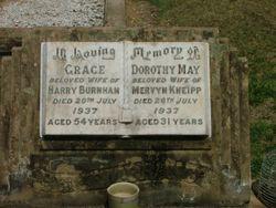 Grace Lydia <I>Dewberry</I> Burnham