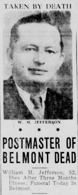 "William Mc Coy ""Jeff"" Jefferson Sr."