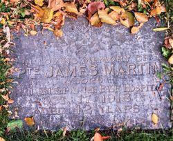 Pvt James Martin
