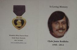 """Clyde """"Junior"""" Reddicks Jr."""