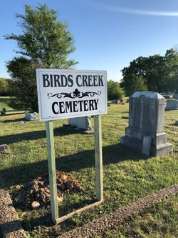 Birds Creek Cemetery In Whitlock Tennessee Find A Grave Cemetery