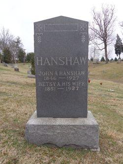 John A Hanshaw
