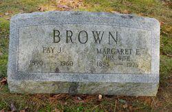 Margaret <I>Ernst</I> Brown