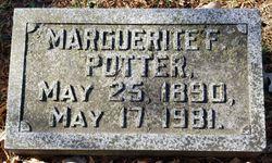 Marguerite F Potter