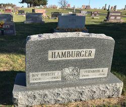 Rev Herbert F. Hamburger