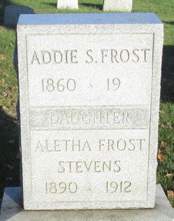 Aletha <I>Frost</I> Stevens
