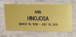 Ann <I>Tudor</I> Hinojosa