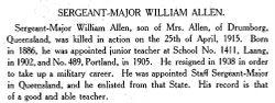 Sgt William Wallace Bentley Allen