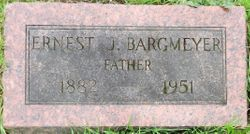 "John Anthony ""Ernest"" Bargmeyer"