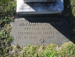 Benjamin Ashley Brady