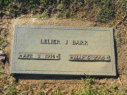 "Lelier Ila ""Lee"" <I>Jones</I> Barr"