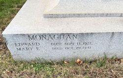 Mary E. <I>Dougherty</I> Monaghan