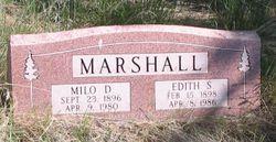Edith Frances <I>Slaymaker</I> Marshall