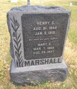 Mary Cecilia <I>Hathaway</I> Marshall