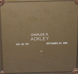 Charles R Ackley