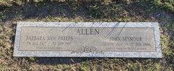 Barbara Ann <I>Phelps</I> Allen