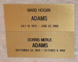 Dorris Merle <I>Pipkin</I> Adams