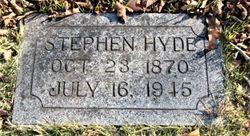 Stephen Hyde Jr.