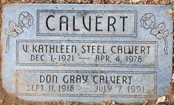 Don Gray Calvert
