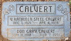 Vera Kathleen <I>Steel</I> Calvert