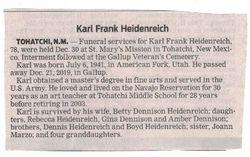Karl Frank Heidenreich