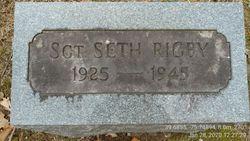 Sgt Seth Rigby