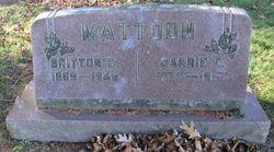 Britton Woodruff Mattoon