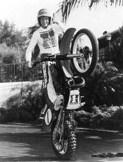 """Douglas A. """"The Wheelie King"""" Domokos"""