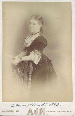 Anna Maria Antonia <I>Story-Maskelyne</I> Smyth